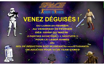 Venez fêter Carnaval au Space Laser Games