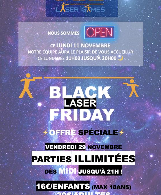 Black Laser Friday today