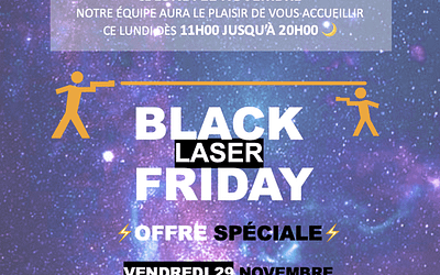 Black Laser Friday today