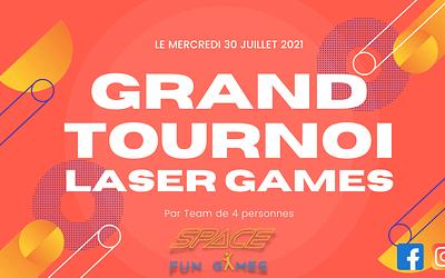 Grand Tournoi de Laser Games le vendredi 30 juillet 2021