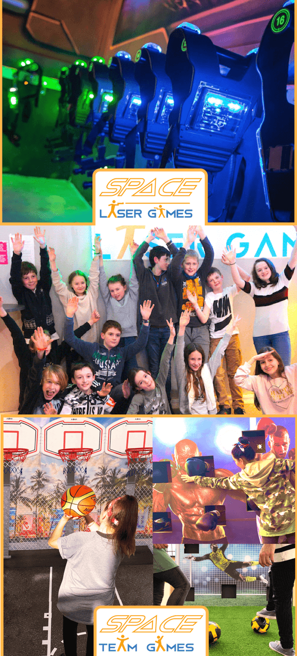Promotion de l'été Space Laser Game